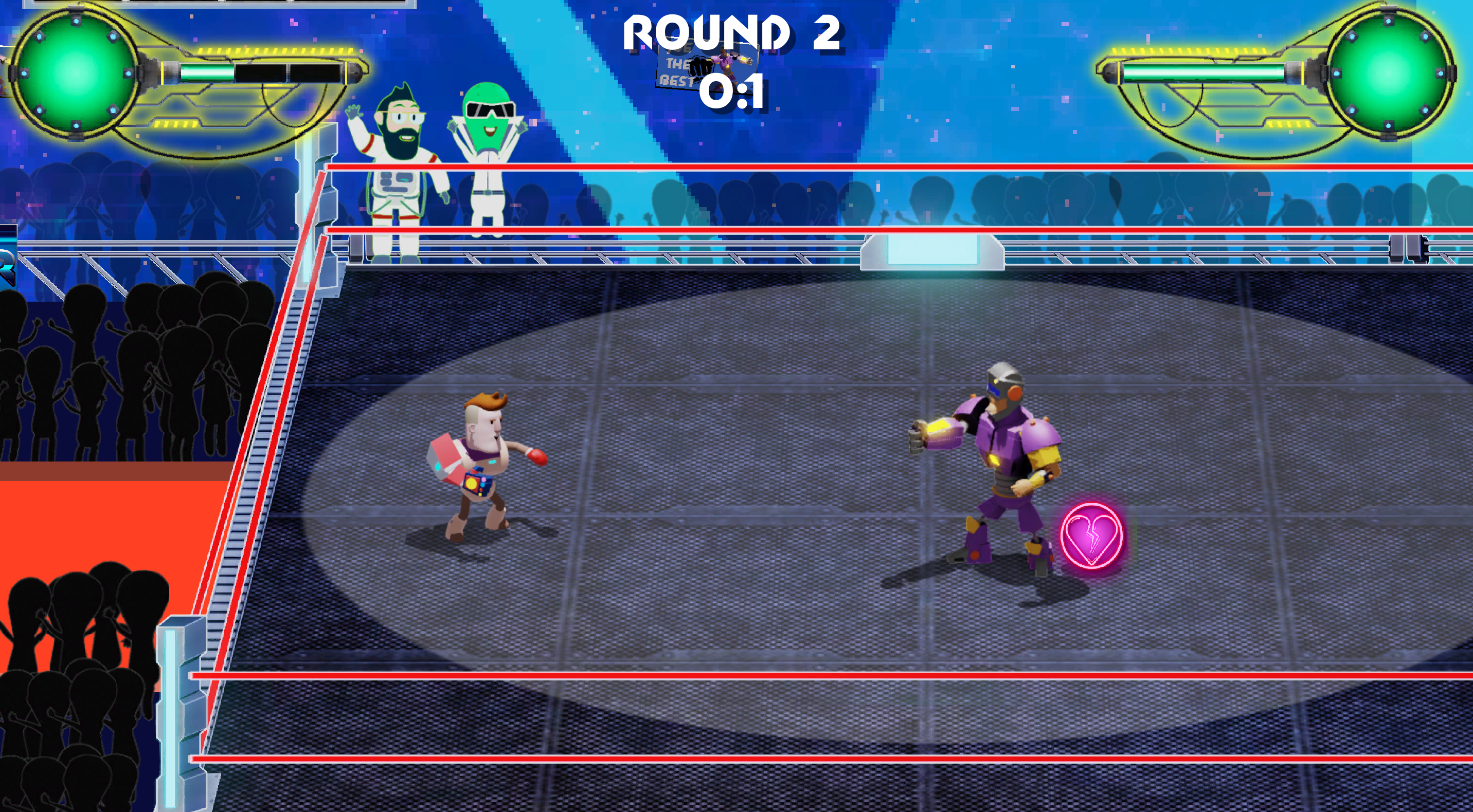 'Moon Fight' boxing level