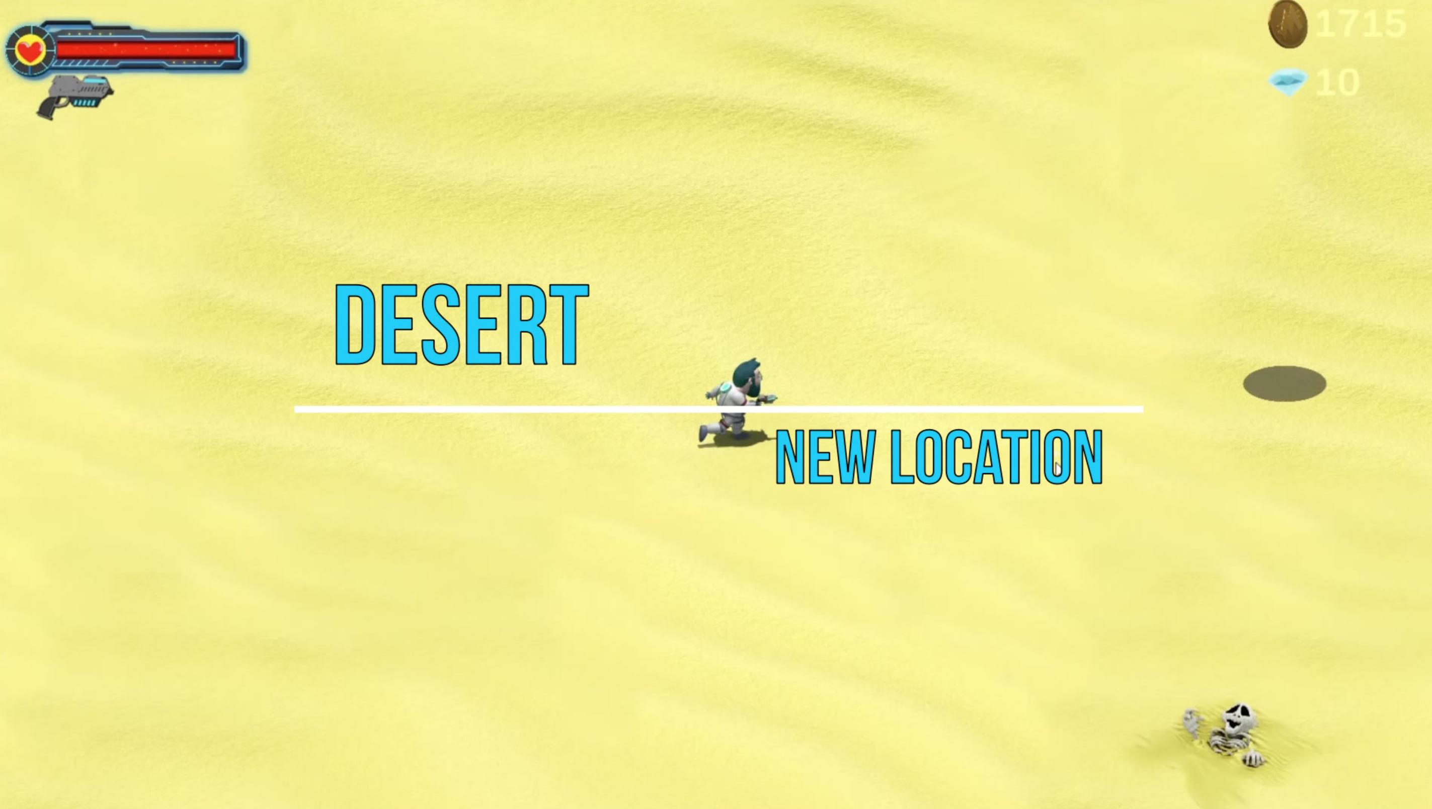 The New |Desert| Level